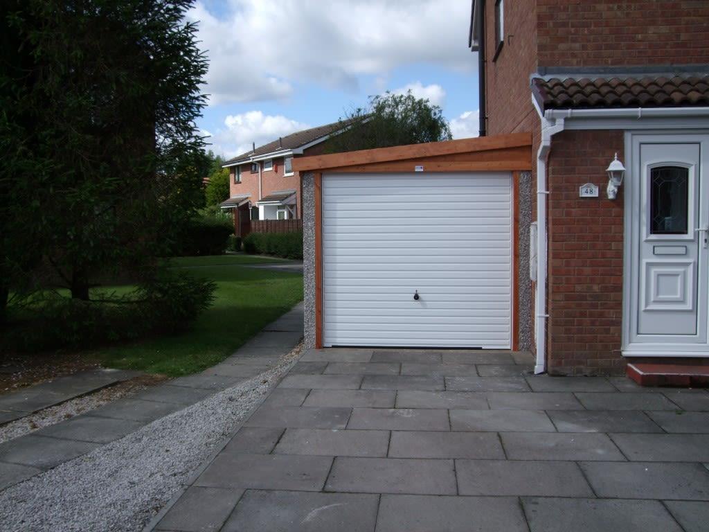 To Garage: Hanson Concrete Garages